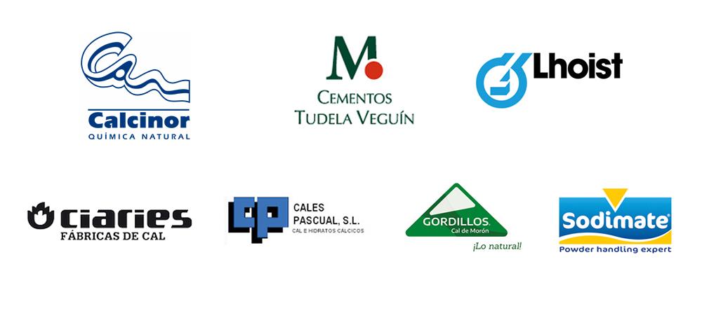 fabricantes de cales cálcicas o magnésicas y sus derivados