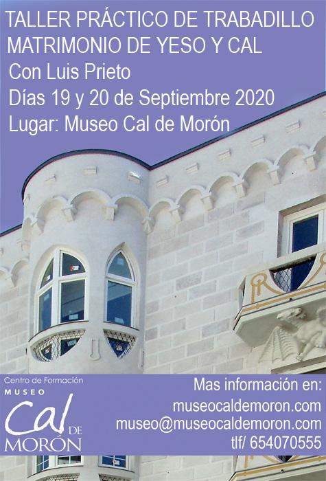 TALLER DE TRABADILLO del museo de la cal de morón