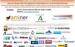 1ª Jornada Aspectos Avanzados en la Actividad Minera