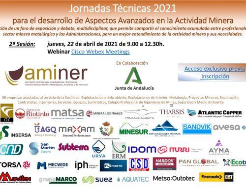2ª Jornada Técnica AMINER Aspectos Avanzados en Minería