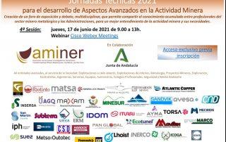 la 4ª Jornada Aspectos Avanzados en la Actividad Minera