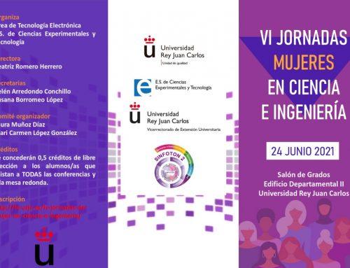 Jornadas Mujeres en Ciencia e Ingeniería Universidad Rey Juan Carlos