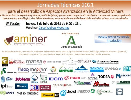5ª Jornada Aspectos Avanzados en la Actividad Minera