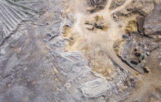 Topografía con drones minería y canteras
